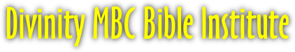 Divinity MBC Bible Institute